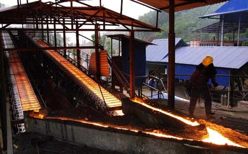 Nhà máy luyện Kim đen Thái Nguyên