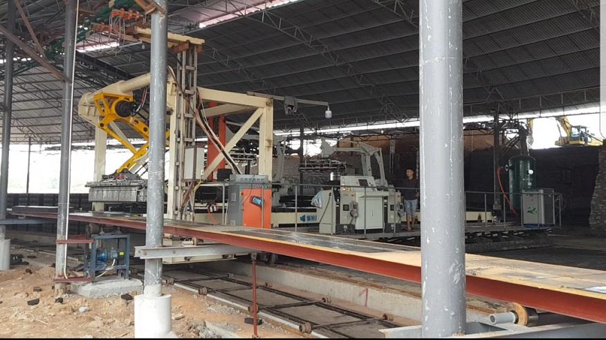 Nhà máy sản xuất Gạch tuynel công nghệ hiện đại nhất miền Bắc