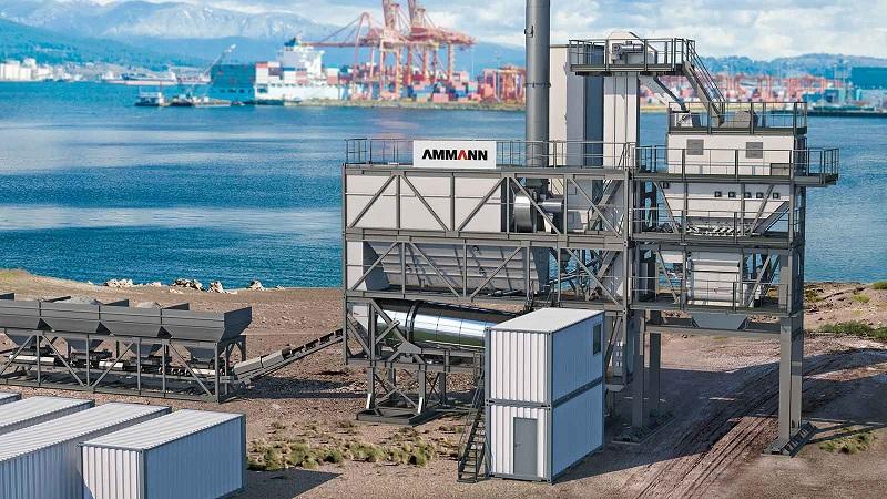 Trạm trộn Bê tông nhựa (Asphalt) của Tập đoàn Ammann (Thuỵ Sỹ)